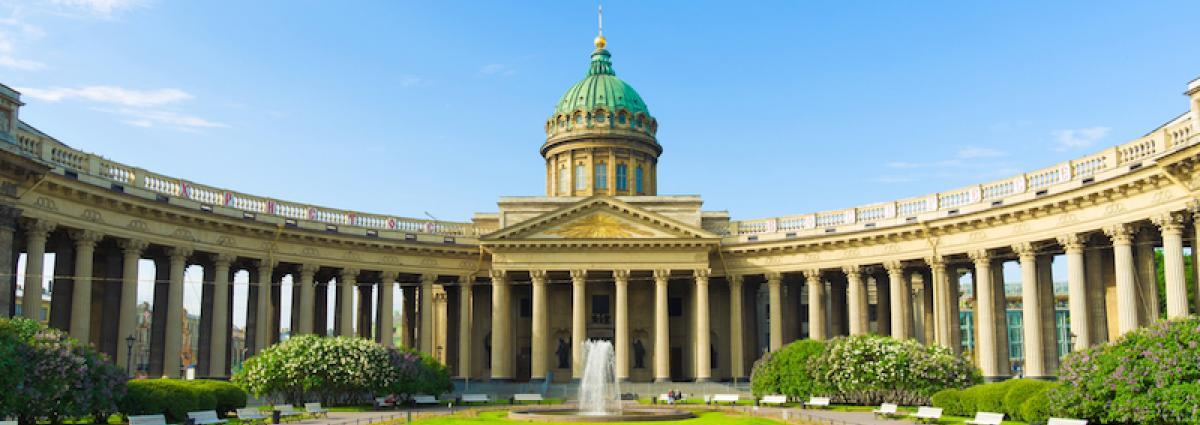 Kazan Cathedral in St. Petersburg I Lähialuematkat Russian Tours
